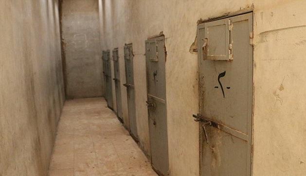 Il carcere di Palmira, distrutto dallo Stato Islamico (foto: Isis, Wilayat Homs, Internet)