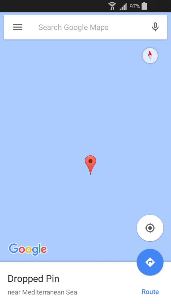 pin mediterranean sea