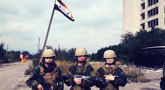 Militari russi in Siria (Internet)