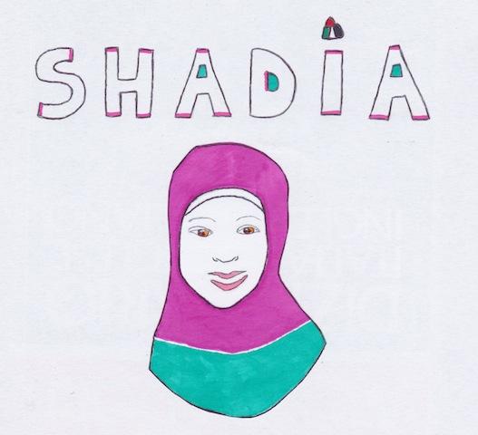 shadia-disegnata-da-claudia